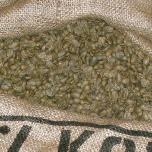 Green Kona Coffee Beans
